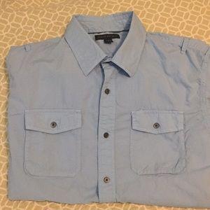 Men's BR button down casual shirt.